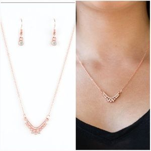 Classically Classic copper necklace
